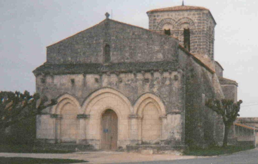 Porche de l'église Saint-Eulalie